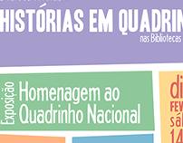 cartazes | Dia Nacional das Histórias em Quadrinhos