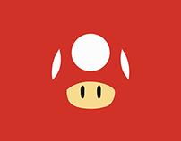 Minimalistic Mario