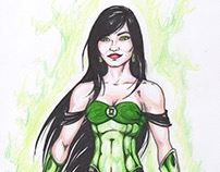 Arisia - Green Lantern