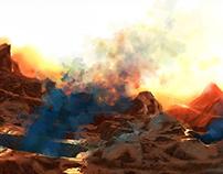 Firestorm planet