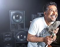 King of Rai Cheb Khaled shoot on Abu Dhabi TV