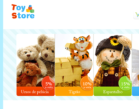 "Toy Store Layout ""E-commerce"""
