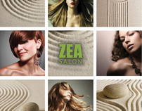 Zea Salon Promotional Postcard