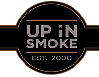 Web Design - Up In Smoke Cigar Lounge