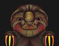 Rasta Sloth