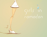 Girls in Ramadan