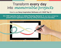Infographic: Transform everyday into memorable projects