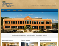 Westerre Conference Center responsive website