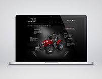 Massey Ferguson  |  MF 7600 Microsite Design