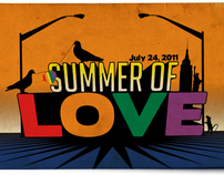 Design - Summer of Love (NYC Gay Marriage collateral)