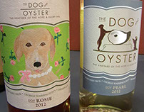 Family of wine labels for small vineyard