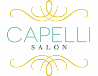 Brand identity | logo and elements for Capelli Salon