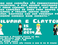 Silvana and Clayton - A Pixel Love