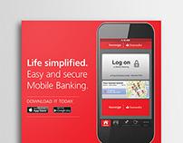 Santander Mobile Banking Campaign