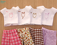 ¡Pajamas!  doll clothes