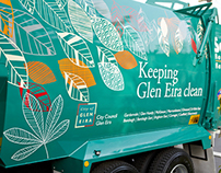 Glen Eira City Council garbage trucks