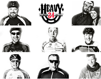 """HEAVY24 Portraitserie """"Bikers and their weapons"""""""