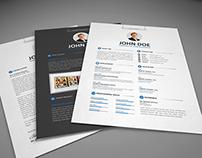 2 Column Resume CV