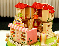cake competition - calico critters