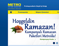 Metro / Toptancı Marketiniz