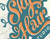 Sky Hair Studio TShirt & Logos