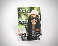 AXA Bike Security lights folder