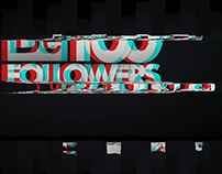 100 followers! Glitch