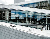 Dramatic Day at Oslo Opera House