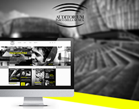 Auditorium Roma - New Website Proposal