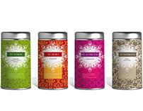 Packaging edición navidad tea garden