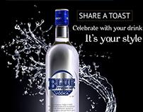 Blue Moon Social Media campaign