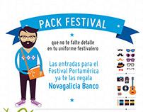 Campaña PortAmérica Novagalicia banco