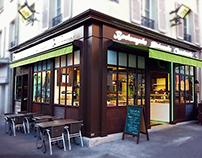 Façade Boulangerie Darras Versailles
