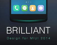 BRILLIANT-MIUI theme design