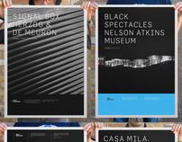 Black Spectacles Print
