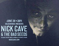 """Nick Cave & the Bad Seeds"" by Brian Ewing"