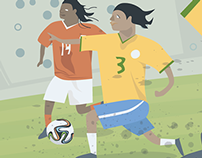 World Cup Illustration