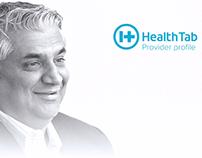 Healthtab - Provider profile