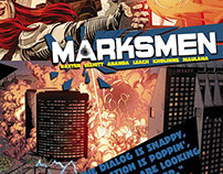MARKSMEN - 6-issue miniseries (Benaroya Publishing)