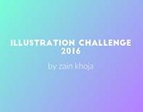 Summer Illustration Challenge 2016