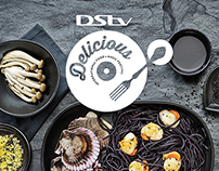 Dstv Delicious Logo Design