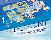 Infopoint system AquaCity Poprad