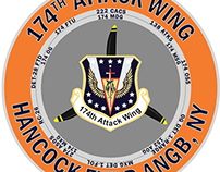 174th Attack Wing Commander's Challenge Coin