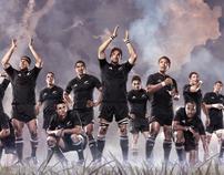 adidas All Blacks team posters 2005 - 2010