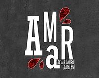 AMAR | Afiche de teatro