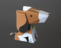 The BUAV: 'Our Best Friends' 3D Papercraft Beagle