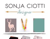 SONJA CIOTTI Design logo & brand board