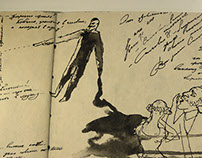 A. Pushkin, illustrations
