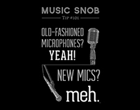 Yeah or Meh: The Microphone — Music Snob Tip #101