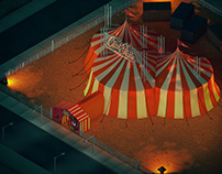 Circo Del Diablo / 3D Illustration